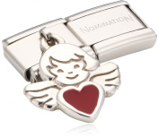 Nomination Composable Women's Bead Classic Charms 925 Silver Angel with Heart