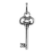 TheCharmWorks Sterling Silver Old Fashioned Key Charm