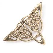 Celtic Bronze Brooch jewellery measure