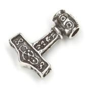 Thor Hammer Mjölnir Pendant 925 Sterling Silver Jewellery, Measure