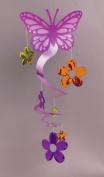 Amscan International Butterfly Spiral Decoration