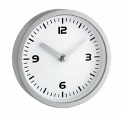 TFA 60.3012 Bathroom Clock with 4 Large Suction Cups for Fixation