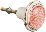 Sass & Belle Pewter Ankara Dream Drawer Knob, Multi-Colour
