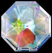 Pretty Octagon Shaped Window Hanging Crystal Rainbow Suncatcher - Great Stocking Filler / New Baby / Moving House Gift
