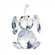 H & D Cut crystal elephant animal figurine collection glass ornament new