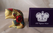 Yellow Poppy Cat Licking Paw - Old Tupton Ware Gift