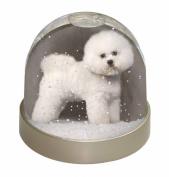 Bichon Frise Snow Dome Globe Waterball Gift