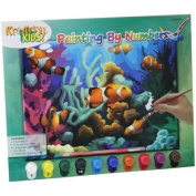 Paint By Numbers With 10 Paints ~ Clown Fish