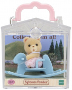 Sylvanian Families Bear on Rocking Horse Baby Carry Case