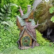 Miniature Fairy Garden Tree House