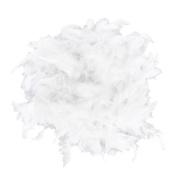 White Feather Boa Fluffy Craft Decoration 2m Long