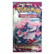 Pokemon XY Phantom Force Trading Card Game Booster Pack - One (1) Pack