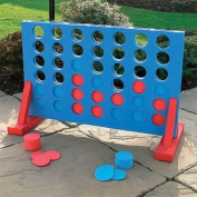 GIANT CONNECT FOUR 4 IN A ROW OUTDOOR GARDEN PUB BBQ PARTY FOAM GAME TOY LARGE