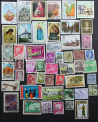 Packet of 50 Different Worldwide stamps from 50 different countries, now with FREE Guyana $20 GWR mini-sheet. A great start for any collector.
