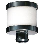 PartCore 1:8 Aluminium Air Filter PRO 3.0 - 6.0 ccm [Titanium] Nitro Motors # 240007