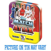 Match Attax 2014-15 Trading Card Tin with 50 Cards