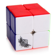 Oostifun Cyclone Boys 2x2x2 Stickless Speed cube Magic Puzzle Cube Colourful