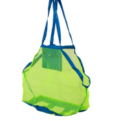 Portable Sand Away Mesh Beach Bag Pack Pouch Toys Carrying XL
