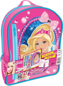 Barbie Filled Stationery Backpack