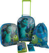 Monsters University 4 Piece School & Luggage Bag Set
