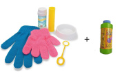 As Seen on Tv Bouncing Bubbles Blowing Bouncing Activity Kit Set and Refiller Bottle of 350ML by As seen on Tv
