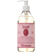 Hand & Body Soap Red Rose Saffron 350ml by Farmacie