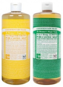 Dr. Bronner's Magic Soaps Citrus Orange & Almond
