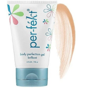 90ml Per-Fekt Matte Body Perfection Gel Tan Moisturises, Perfects and Enhances Skin Whilst Offering an Alternative to Traditional Self-Tanners and Body Bronzers
