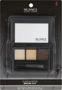 Nuance Salma Hayek Shape & Define Brow Kit Medium Blonde 095 by USA