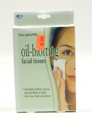Nu-pore Oil- Blotting Facial Tissues 60 Tissues