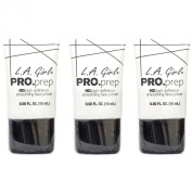 L.A.Girl High Definition Smoothing Face Primer With Vitamin E ,3 Pcs