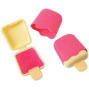 Lot Of 6 Popsicle Ice Cream Bar Pink Glitter Lip Gloss