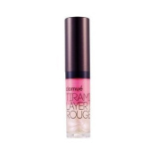 clamue, Tiramisu Layers Lip Rouge 4.5g # Pink cream (Essence + Liquid + Perl...