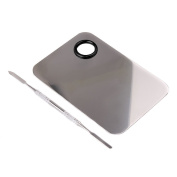 Easy lifestyles Professional Pro Stainless Steel Cosmetic Makeup Palette Spatula Tool