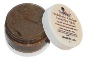 Sandalwood & Walnut Facial Skin Polish, with Argan Oil and Honey, Diva Stuff, 60ml