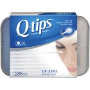 Q-tips Cotton Swabs Refillable Vanity Pack, 285 Cotton Swabs