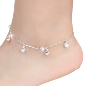 Lowpricenice(TM)Women Chain Ankle Bracelet Barefoot Sandal Beach Foot Jewellery