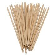 759SHOP 150pcs Nail Art Orange Wood Sticks Cuticle Pusher Remover Manicure Pedicure Tool 120mm