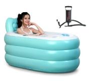 Pixnor New Fashion Adult SPA Inflatable Bath Tub with Air Pump