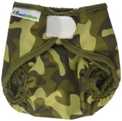 Best Bottom Cloth Nappy Shell-Hook and Loop, Camo