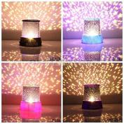Generic Colourful Twilight Romantic Sky Star Master Projector Lamp Starry LED Night Light Kids Bedroom Bed Light for Christmas Light