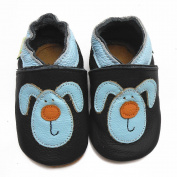 Sayoyo Baby Rabbit Soft Sole Leather Infant Toddler Prewalker Shoes