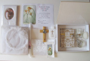 Blessed By Pope Benedict XVI First Holy Communion Gift Set for Boy or Girl