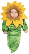 Rubie's Costume Co Baby Girl's Sunflower Bunting Infant Costume