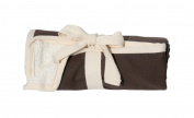 JL Childress 100% Cotton Full Body Changing Pad, Brown