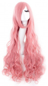 "MapofBeauty 40"" 100cm Long Curly Cosplay Wig Anime Costume Party Wig"