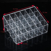 Acrylic Clear Cosmetic Make Up Case Lipstick Liner Brush Holder Organiser Drawer NO.9