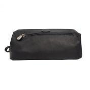 Piel Leather Deluxe Top Frame Travelling Kit