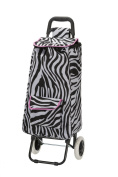 Rockland Luggage Rolling Shopping Tote