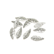 830 Pieces Antique Silver Jewellery Making Charms Supplies Charme Making Findings Craft Silver KST01 Leaf
